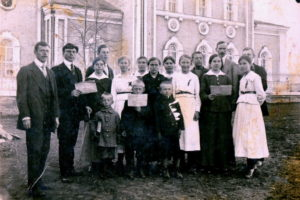 Церковный хор 1922 г.