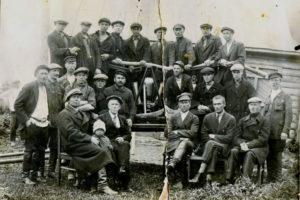 Пожарная команда с. Никольское-Трубецкое, 1928 г.